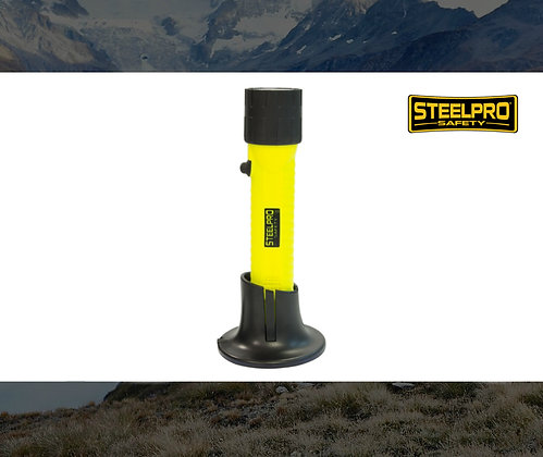 LINTERNA STEELPRO SF4 RECARGABLE