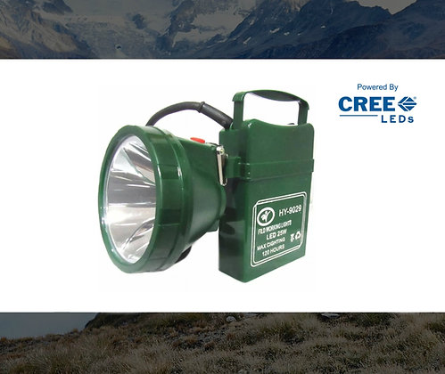 FOCO CAZA LED RECARGABLE 25W