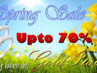 Spring sale we offer up to 70%