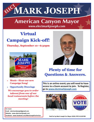 Campaign Kick-off Event - Sept. 10 at 6:30pm