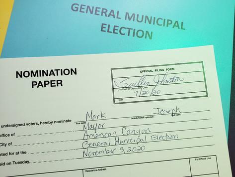 I'm Running for Mayor!