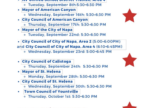 Candidate Forums - League of Women Voters