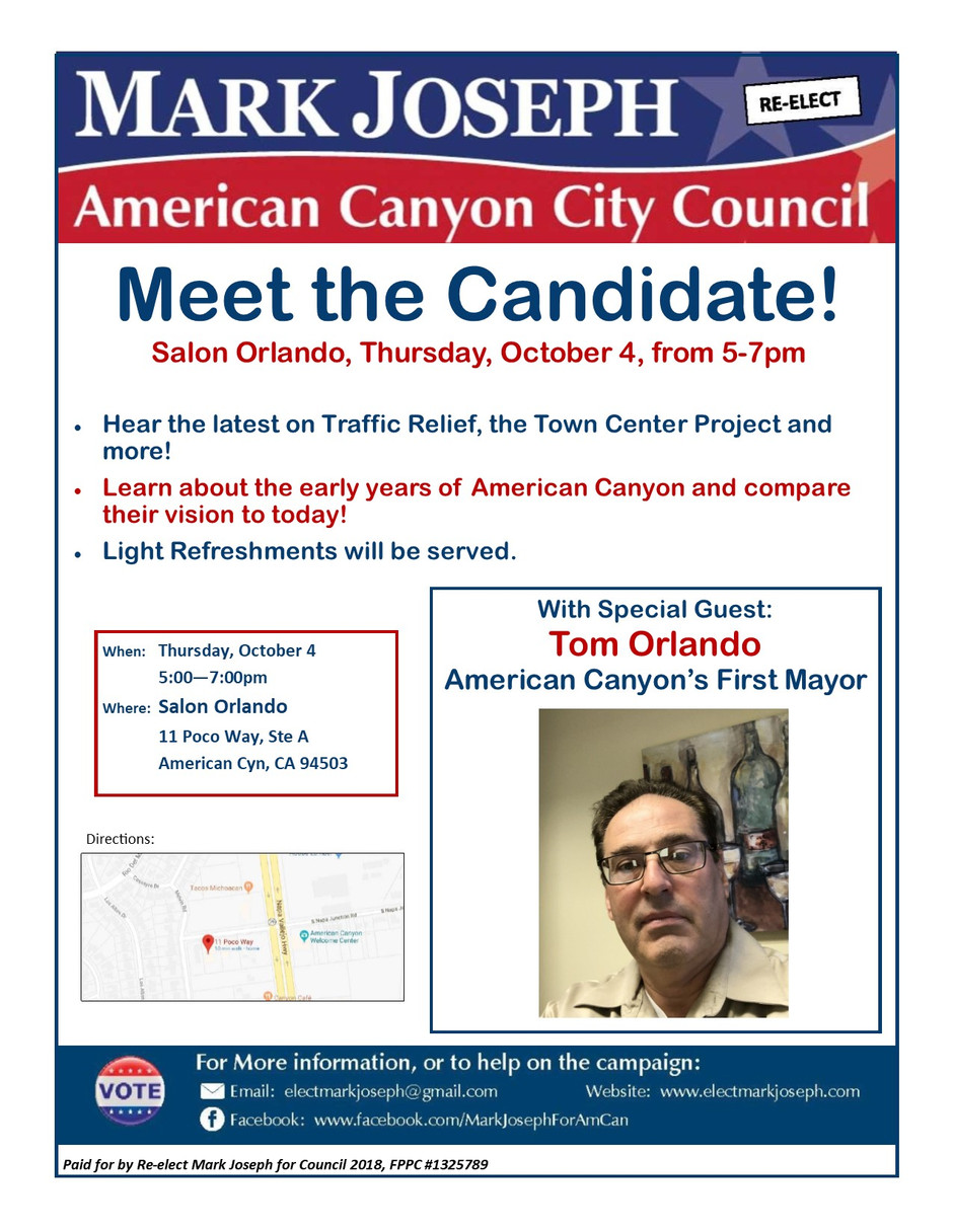 Meet the Candidate - October 4