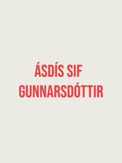 Born in Madison, Wisconsin, USA, lives and works in Reykjavík, Iceland. Gunnarsdóttir studied at UCLA in Los Angeles and at the School of Visual Arts in New York. Ásdís is known for her performances and video installations that experiment with the dimensionality of the projected medium and visual psychedelic poetry, treating videos as songs. Her work spans large video installations and performances as well as spoken word poetry and photography.