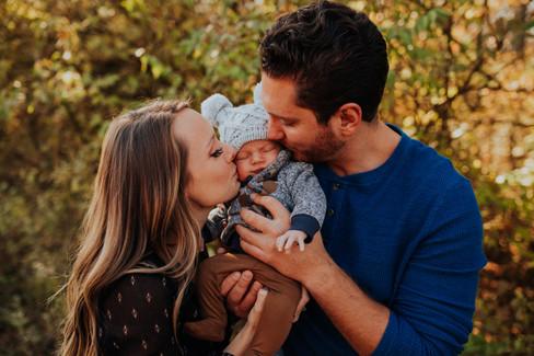 Madeline, Trent & Noah - Family Session