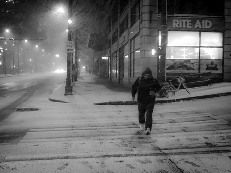 Reminder of snow will arrive in Seattle.