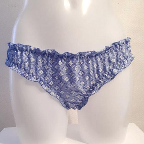 Bloomer coton bleu imprimé