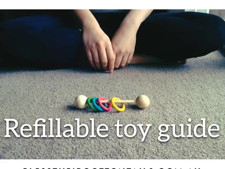 Video Tutorial: Refillable Toy Guide