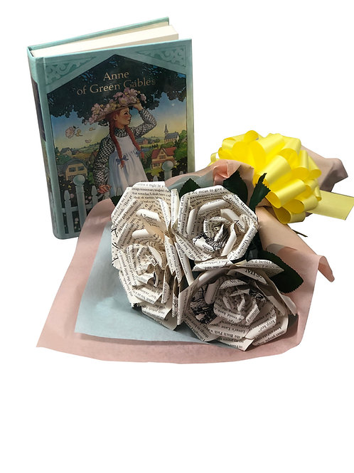 Anne of Green Gables Book Flower Bouquet