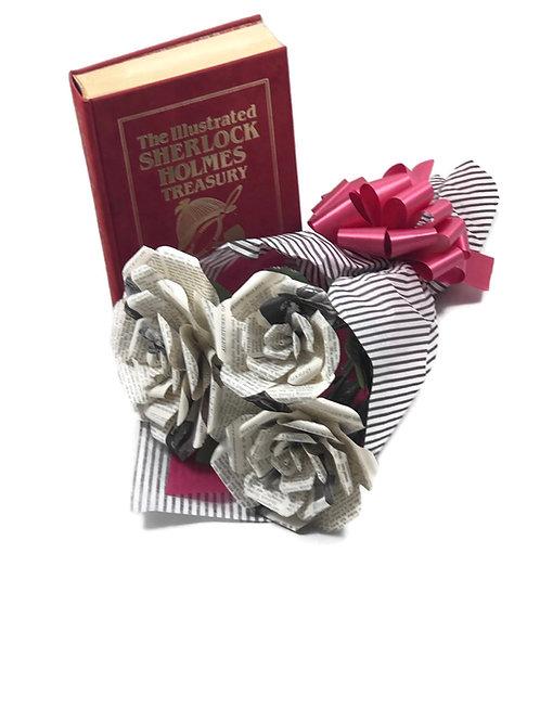 Sherlock Holmes Book Flower Bouquet
