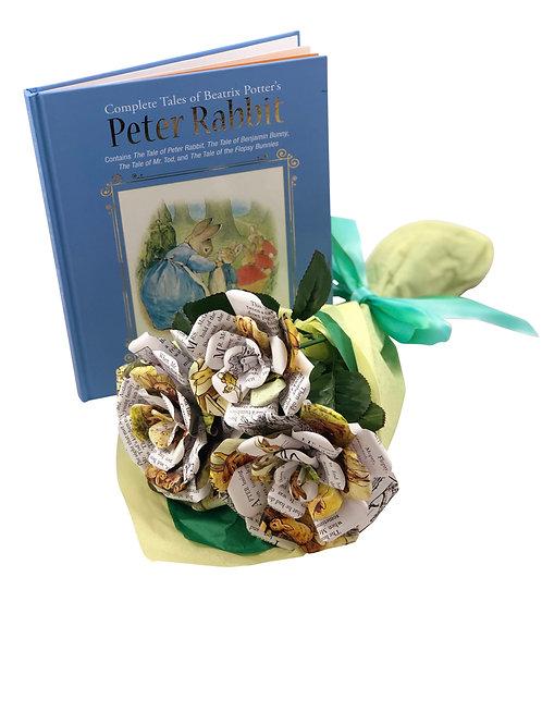 Peter Rabbit Book Flower Bouquet