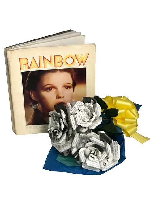 Judy Garland Book Paper Bouquet