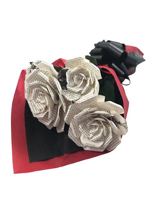 Dracula Book Flower Bouquet