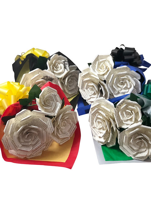 Harry Bouquets in House Colors