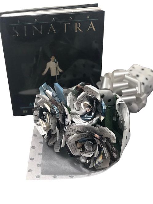 Frank Sinatra Book Flower Bouquet