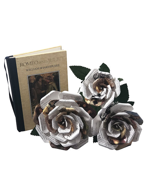 Romeo and Juliet Single Stemmed Roses in 3 Sizes