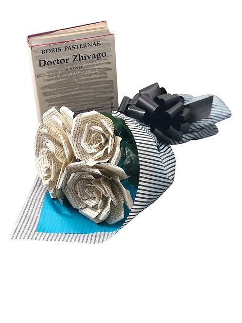 Doctor Zhivago Book Flower Bouquet