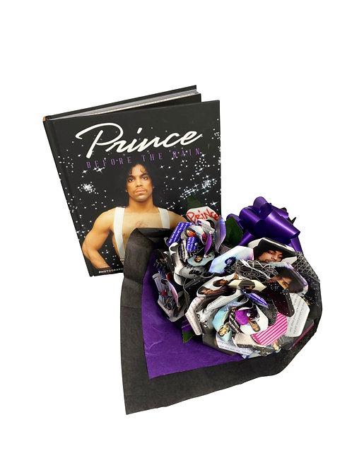 Prince Book Paper Flower Bouquet