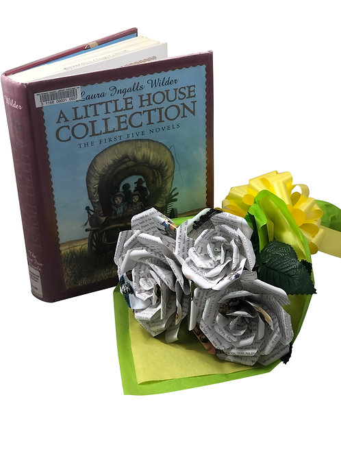 Little House on the Prairie Book Flower Bouquet