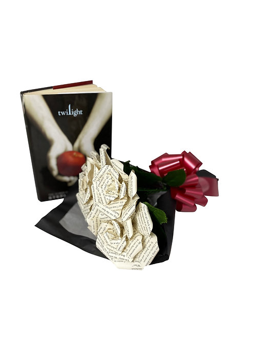 Twilight Book Flower Bouquet