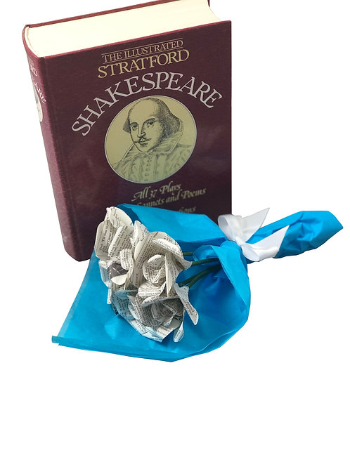 Shakespeare Petite Bouquet of Mini Roses
