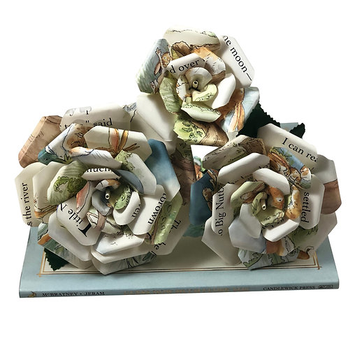 Guess How Much I Love You Book Paper Flowers in 3 Sizes