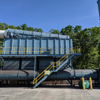 Dust collector upgrades, heat recovery