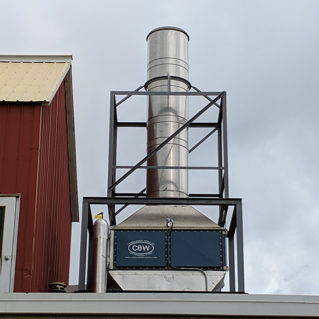Stack heat recovery system, economizer