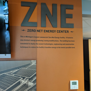 Net zero energy commercial building