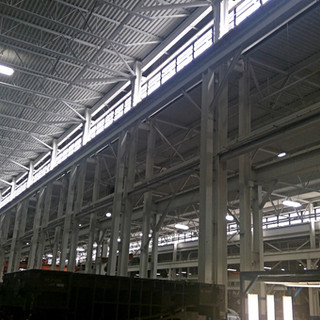 High bay lighting & occupancy sensor upgrades