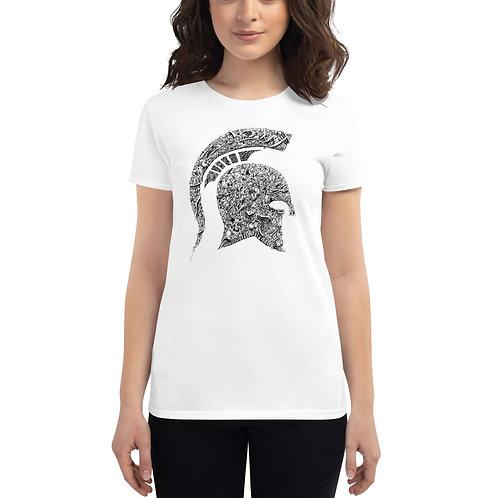 Women's short sleeve MSU t-shirt
