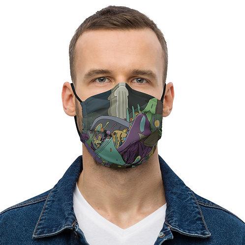 Premium Water City face mask