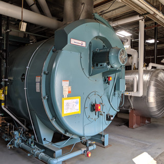 Natural gas package boiler & steam system upgrade