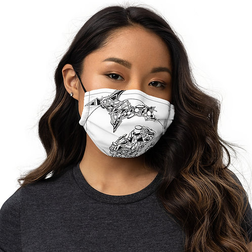 Premium Mitten face mask