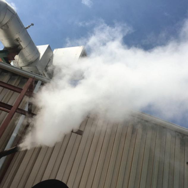 Boiler blowdown heat recovery