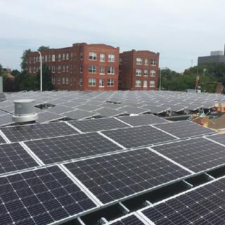 Solar panel installation & net zero energy building