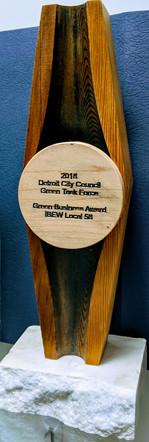 2018 DETROIT CITY COUNCIL AWARD - IBEW LOCAL 58 DETROIT
