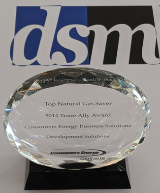 2014 CONSUMERS ENERGY HIGHEST NATURAL GAS SAVINGS