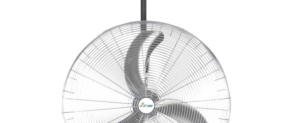 Airfoil Ultra Quiet Circulators Non-Oscillating