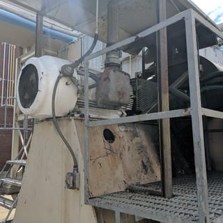 VOC recovery system fan VFDs