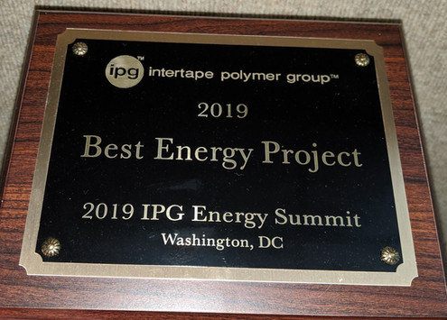 2019 IPG ENERGY PROJECT OF THE YEAR: BOILER UPGRADES
