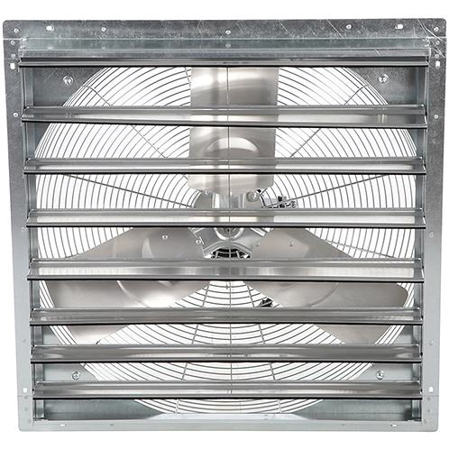 Low Pressure Shutter Fan