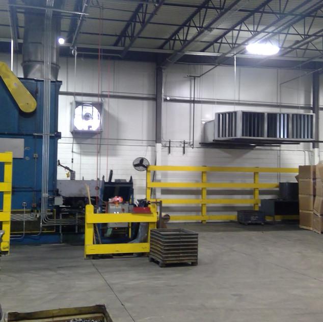 HVAC & makeup air upgrades & rebalancing