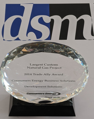 2014 CONSUMERS ENERGY LARGEST CUSTOM NATURAL GAS PROJECT