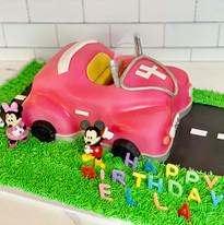 Mickey & Minnie Take a Ride