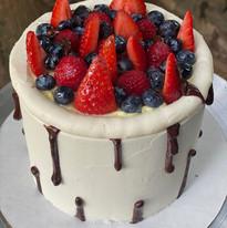 Chocolate Fruit Tart