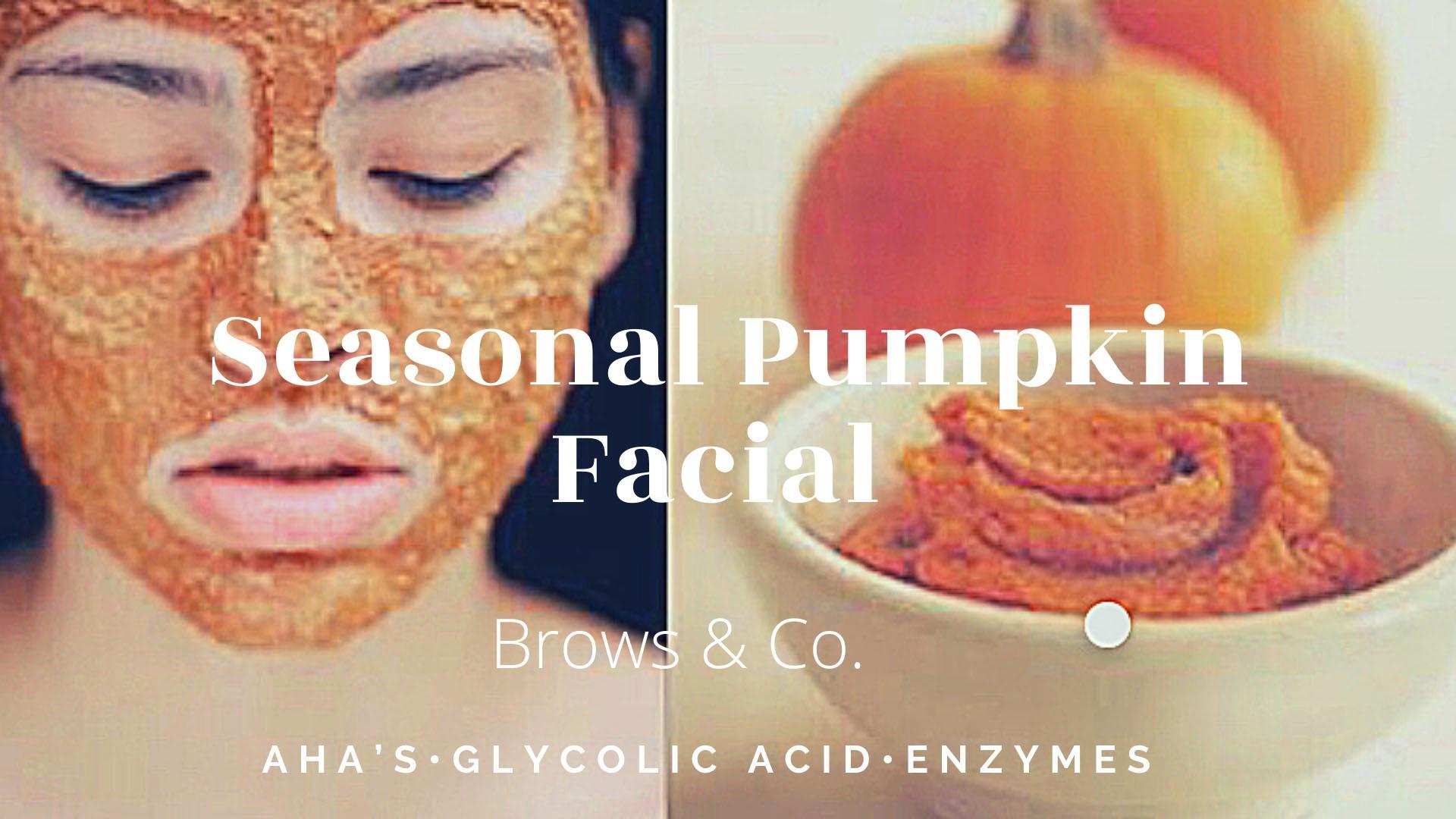 Seasonal Pro Pumpkin Facial