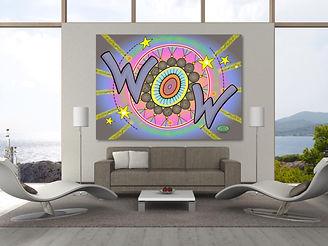 WOW artwork by Susan bird Artwork