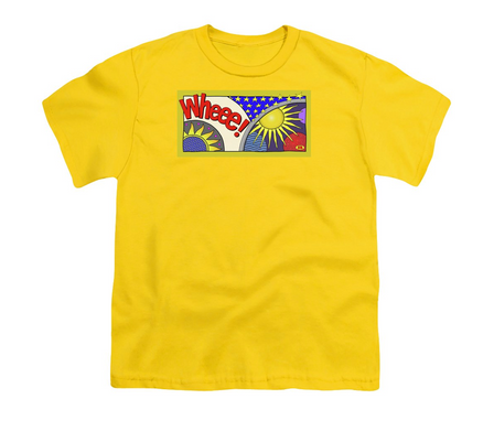 Wheee! on a shirt