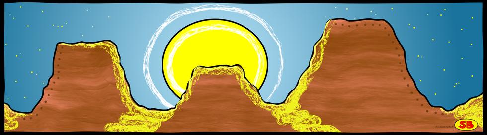 Mesa Moonrise